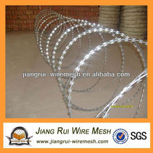 Arame farpado galvanizado elétrico (fabricante)