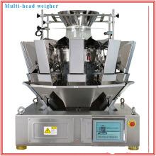 Máquina de medición / pesadora automática de 10 cabezales