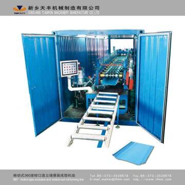 Çelik Yapı Güverte Döşeme Rulo Şekillendirme Makineleri