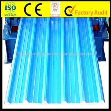 7.5KW Arc Glazed Fliesen Roll Forming Machine, 0.15mm-0.8mm Metall Umformung Ausrüstung