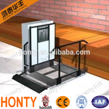 portable vertical wheelchair lift platform for disabled people