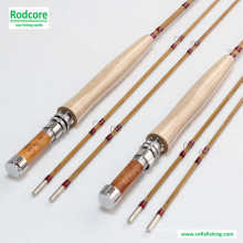 7ft6in 4wt Hand Crafted Tonkin bambu Fly Rod