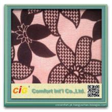 2015 Novo Design100% Poliéster Jacquard Reunindo / Flocado / Flock Tecido Fábrica Para O Sofá / Estofamento / Home Têxtil