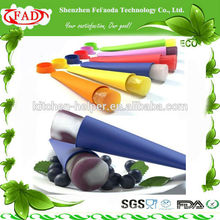 FDA Ice Popsicle Maker Silicone Freeze Juice Ice Mold