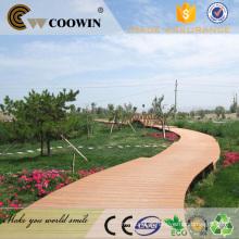 Placa de revestimento do trajeto do jardim composto plástico de madeira