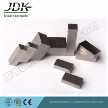 Segments de diamant pour la coupe de calcaire des Etats-Unis