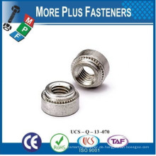 Made in Taiwan Self Clinching Nut Blind Self Clinching Nuss Edelstahl Nicht Locking Schwimmende Selbst Clinching Nuts