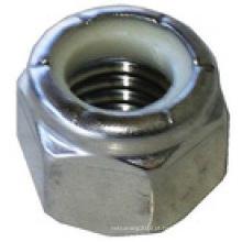 Porca de segurança DIN Nylon (DIN982 / DIN985)