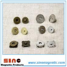 Botones de botones magnéticos de monedero / bolso