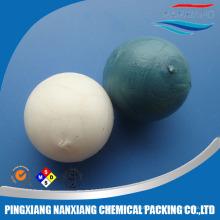 material de plástico Bola de flutuação contínua 10mm 15mm 38mm 50mm