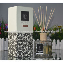 Reed Diffusers with Natural Sticks and Wooden Cap, OEM Orders are Welcome