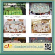 Plastic High Gloss Table Cloth