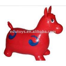 Big Jumping Horse Brinquedos infláveis PVC animal