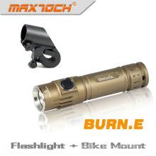 Maxtoch quemadura. E Cree 18650 U2 pequeña luz de LED impermeable linterna