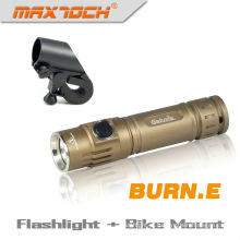 Maxtoch BURN. E Cree 18650 U2 luz LED pequena lanterna à prova d'água