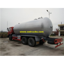 Dongfeng 26000 Litres LPG Gas Transport Tankers