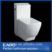ЕАГО мода Watersense СКП керамический квадратный кусок туалет TB336