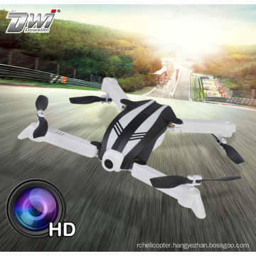 DWI drone remote aircraft model with foldable 720P wifi camera FPV