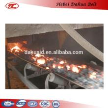 DHT-134 fire resistant rubber conveyor belt for Industrial transportation