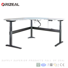 Steel frame Fast Speed Electric Office Standing Computer Desk in wireless controlling system