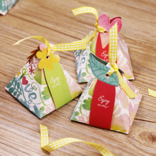 Fashionable design chinese christmas candy box