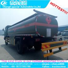 8.5tons-14tons Dongfeng 4x2 LHD Rhd militar combustível Diesel caminhão