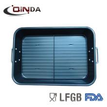 plaque de cuisson plate antiadhésive en acier au carbone