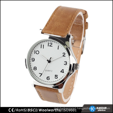 arabic numerals dial wrist watch for men