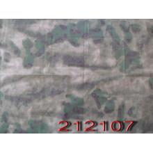 Ödland Stil Polyester Ribstop Tarnung militärischen Baumwollstoff
