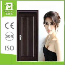 Puerta de madera de melamina de alta calidad del último diseño 2018 para la puerta del MDF