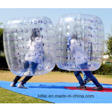 Low MOQ Top Supplier Promotional Wholesale Custom Inflatable Bubble Bumper Ball