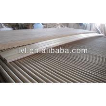 Lamelas de madeira de bétula