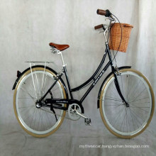 China Factory New Popular Nexus 3 Gear Vintage Lady City Cruiser Bike with Basket