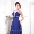 последний плиссированные дизайн женщины мода одежда спагетти ремень макси шифон eveing платье