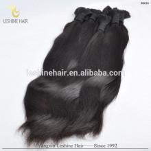Cuticule Intact Non Transformés Noir Réel Humain En Vrac Cheveux En vrac Non Indien Jeune Ladey En Gros