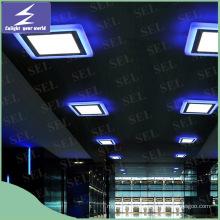 Heißer verkaufender blauer roter grüner Rand 2 färbt LED-Verkleidungs-Licht