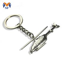 Porte-clés d'avion en métal sur mesure
