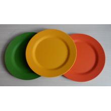 Eco Bamboo Fiber Tableware Plate (BC-P2004)