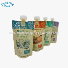 Flüssigkeits- / Safttüllenbeutel / wiederverwendbarer Beutel / Plastikflaschenwassertüllenbeutel