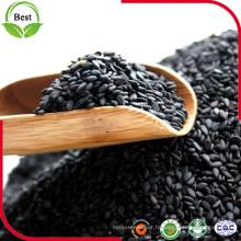 Graines de sésame noires naturelles décortiquées