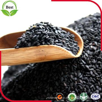 Geschälte natürliche schwarze Sesamsamen