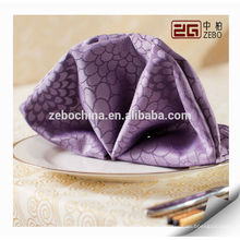 Fabrikverkauf Verschiedene Farbe vorhandenes Luxuxhotel-Tabellen-Serviette-Tuch
