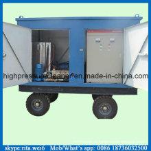 1000bar Motor Elétrico de Alta Pressão de Água Jet Pipe Cleaner