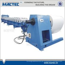 Telhado ondulado personalizado do metal de folha que faz a máquina