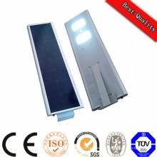 Batterie solaire à panneaux solaires intégrée tout en un réverbère solaire