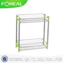Stainless Steel Floor Free Stand Bathroom Collection Rack