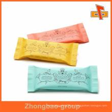 Fabricante de bolsas de helado de plástico con sellado térmico de grado alimentario con licencia QS