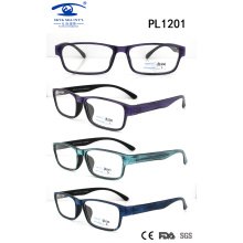 2017 New Design Square Shape PC Eyewear (PL1201)