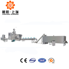 Edible rice straws drinking rice straw extrusion machine