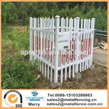 PVC-galvanisierter Stahlgarten-Randzaun Plastikstahlrasen-Randfechten des im Freien